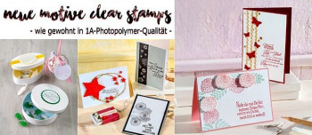 Clear Stamps / Polymer Stempel