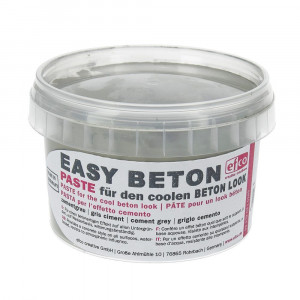 Easy Beton Paste, , 350 g, zementgrau